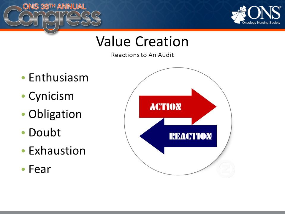 Value Creation Reactions to An Audit