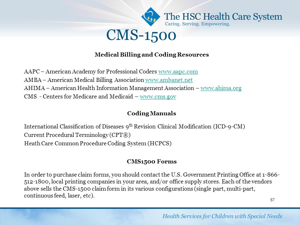 Medical Billing and Coding Resources
