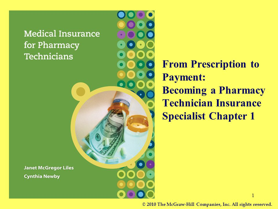 From Prescription to Payment: Becoming a Pharmacy Technician Insurance Specialist Chapter 1