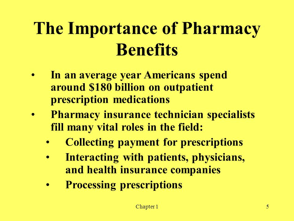 The Importance of Pharmacy Benefits