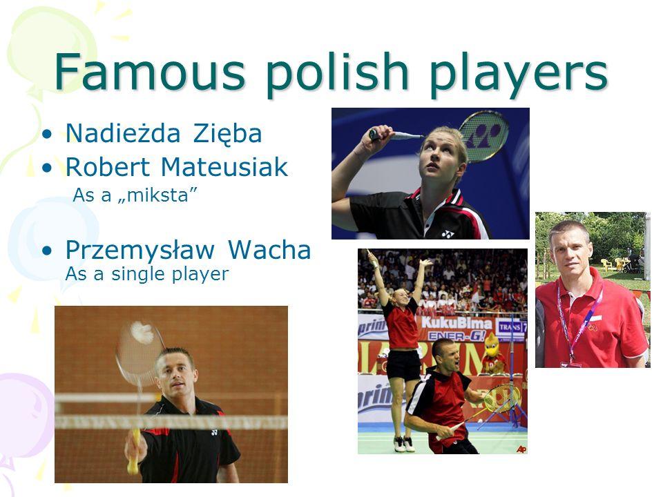 Famous polish players Nadieżda Zięba Robert Mateusiak