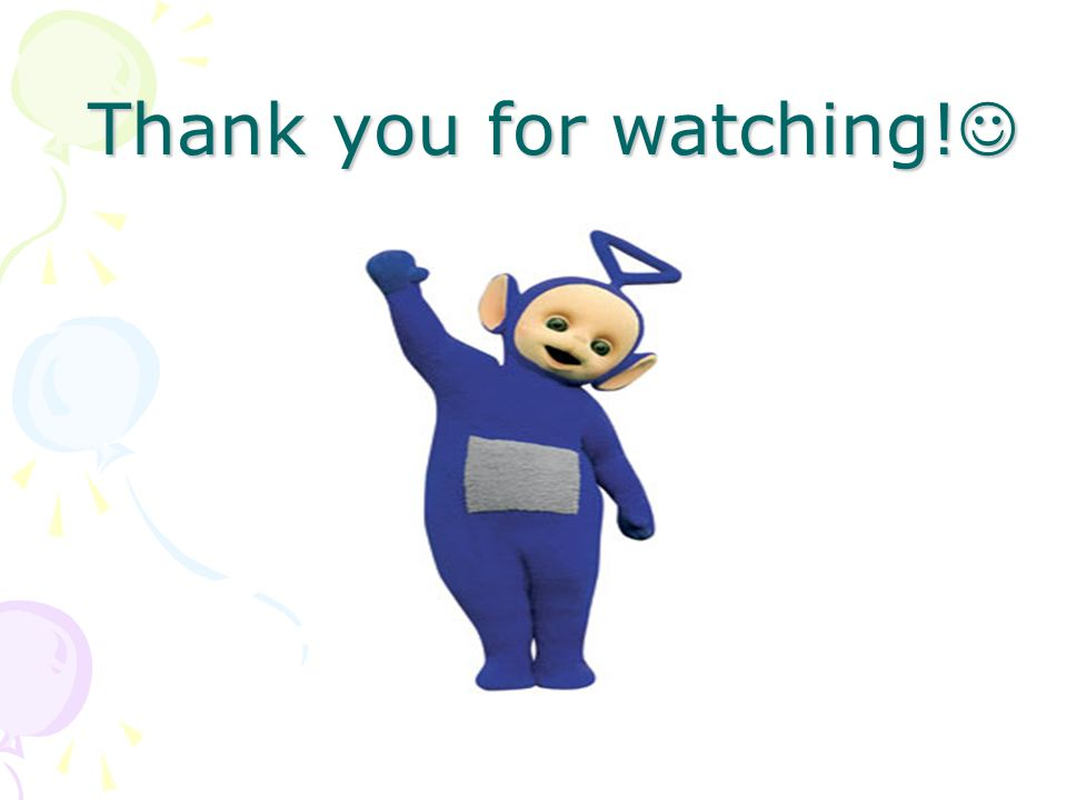 Thank you for watching!