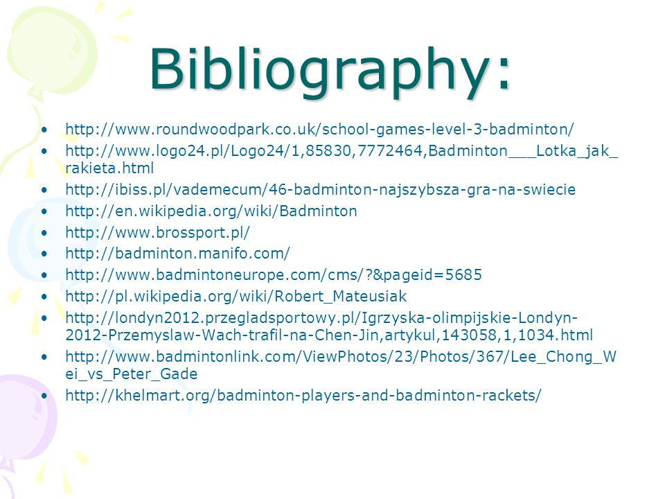 Bibliography:http://www.roundwoodpark.co.uk/school-games-level-3-badminton/