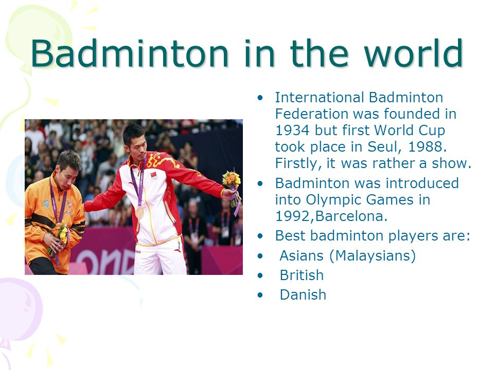 Badminton in the world