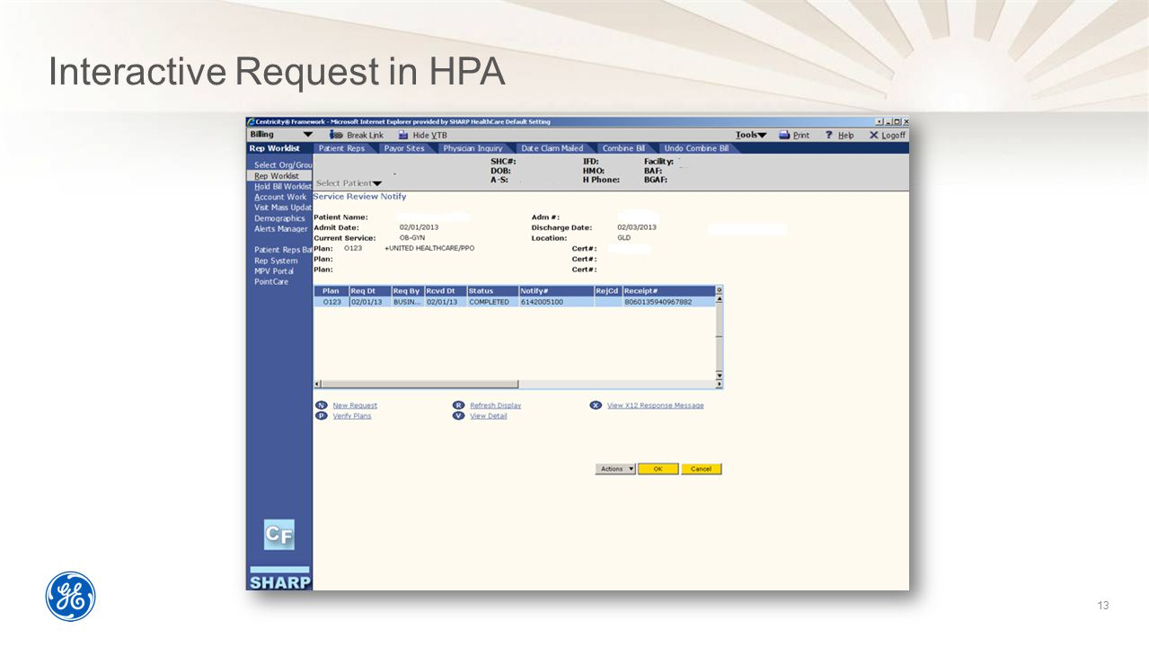 Interactive Request in HPA