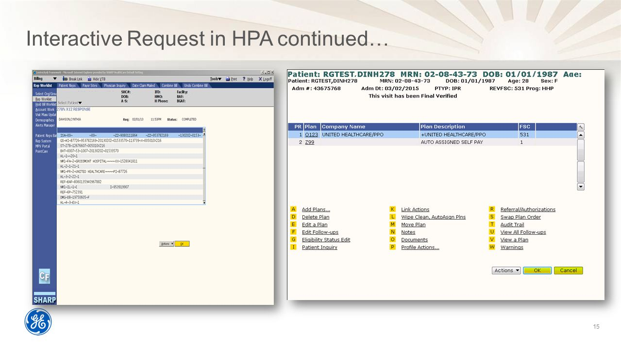 Interactive Request in HPA continued…