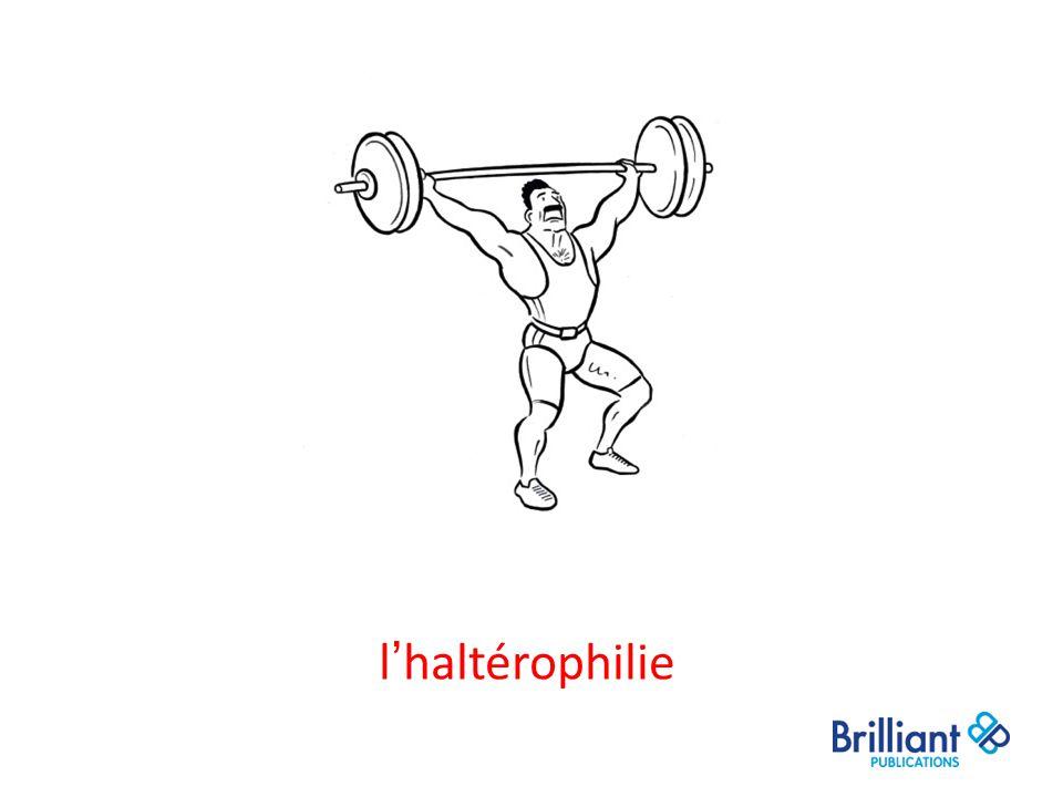 l'haltérophilie