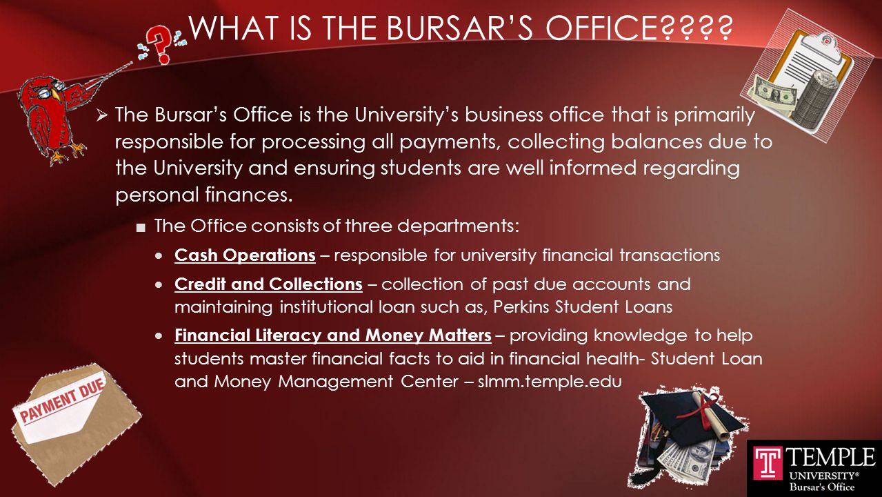 What is the Bursar's Office