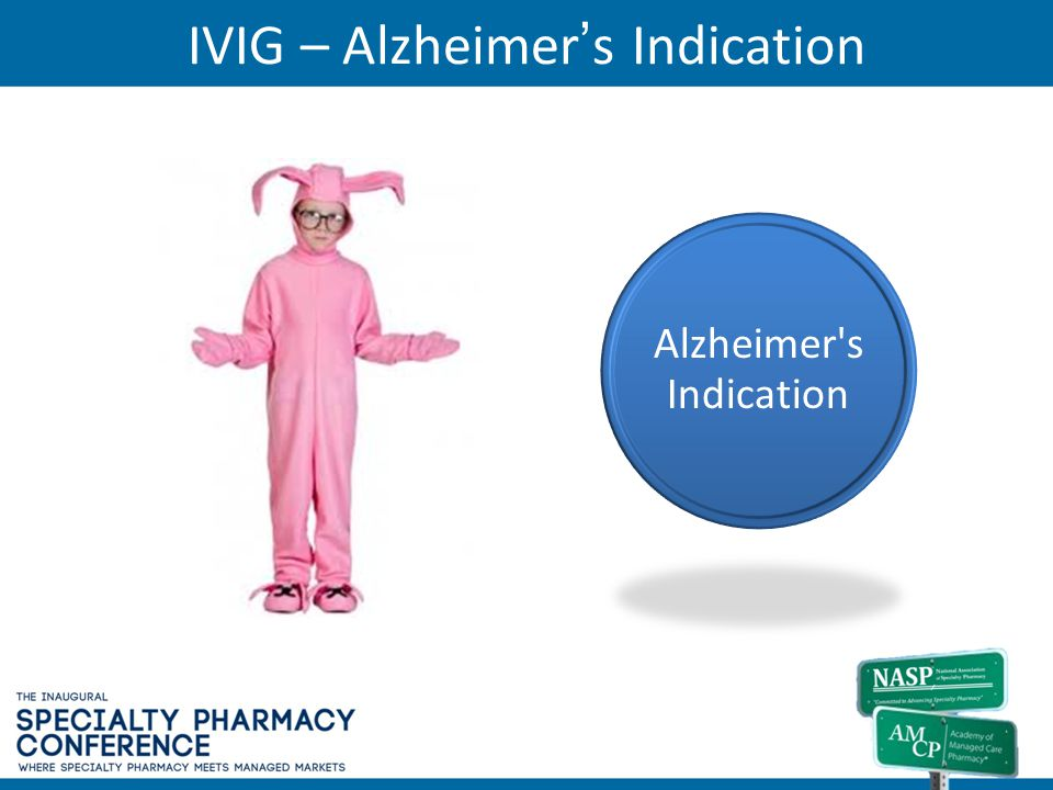 IVIG – Alzheimer's Indication
