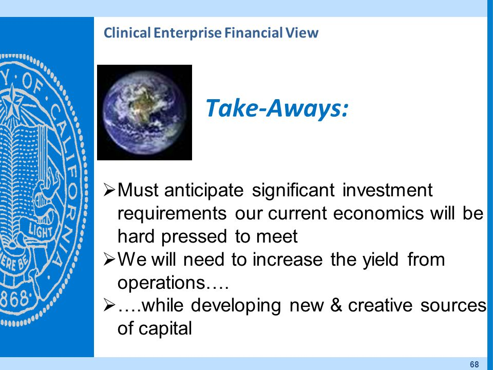 Clinical Enterprise Financial View
