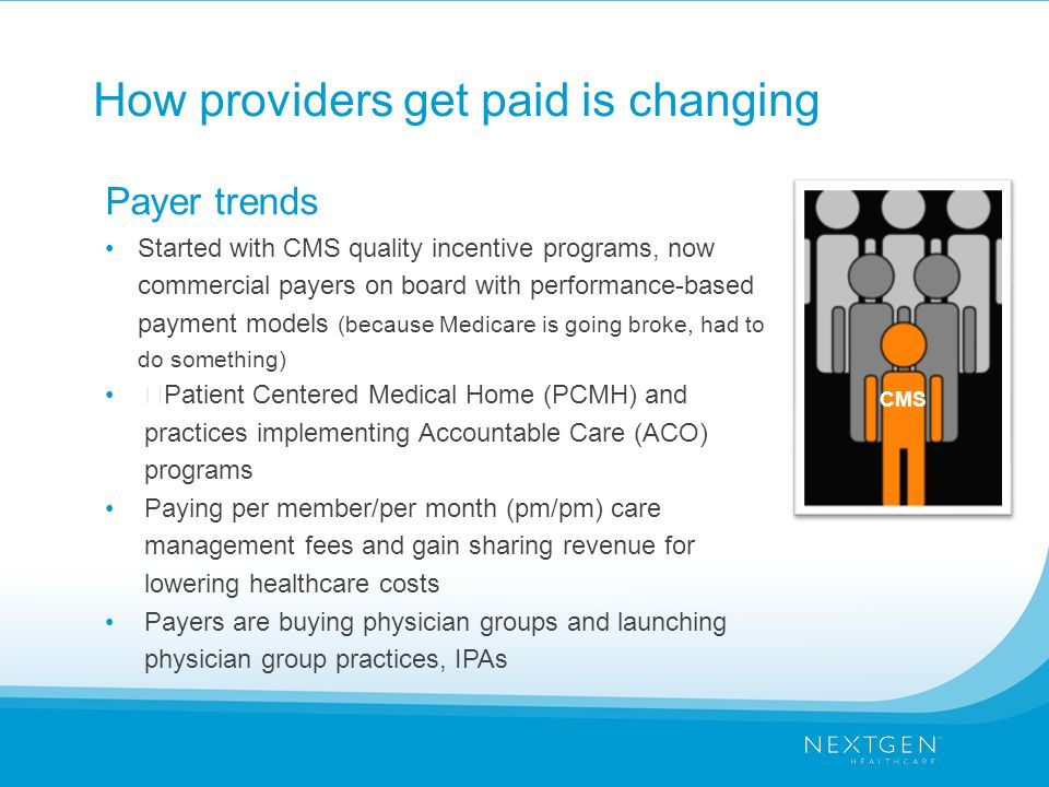 How providers get paid is changing