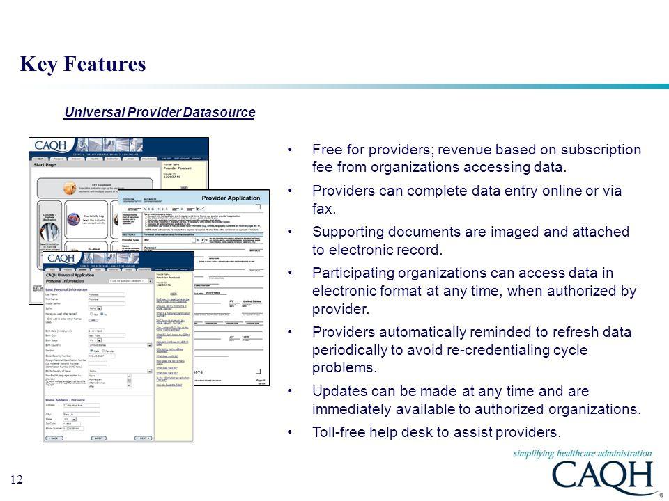 Universal Provider Datasource