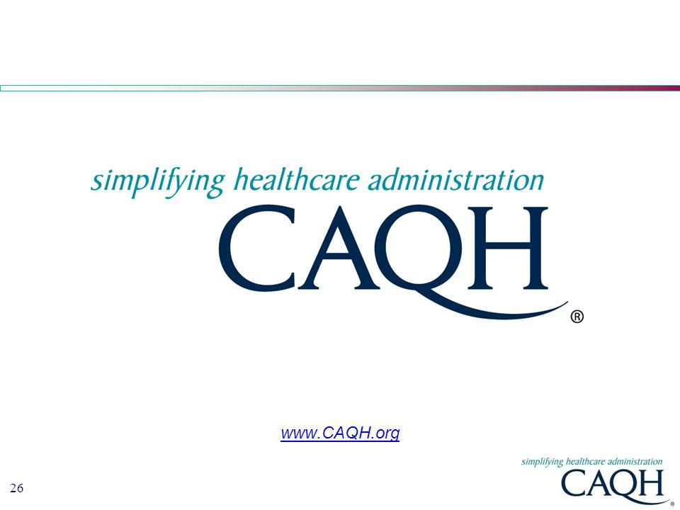 www.CAQH.org