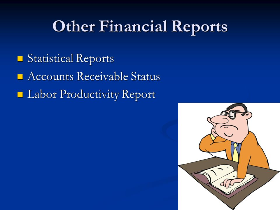 Other Financial Reports