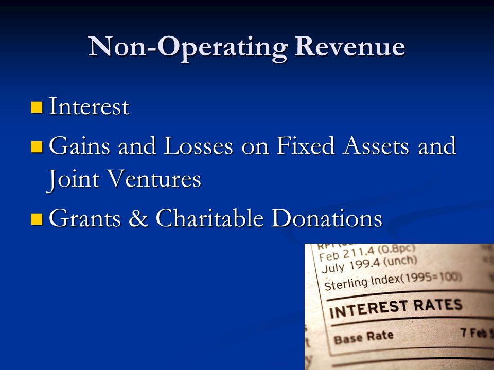 Non-Operating Revenue