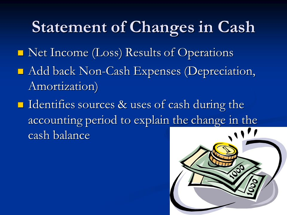 Statement of Changes in Cash