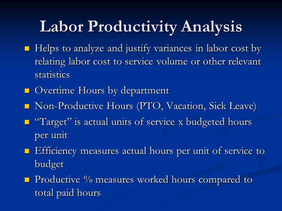 Labor Productivity Analysis