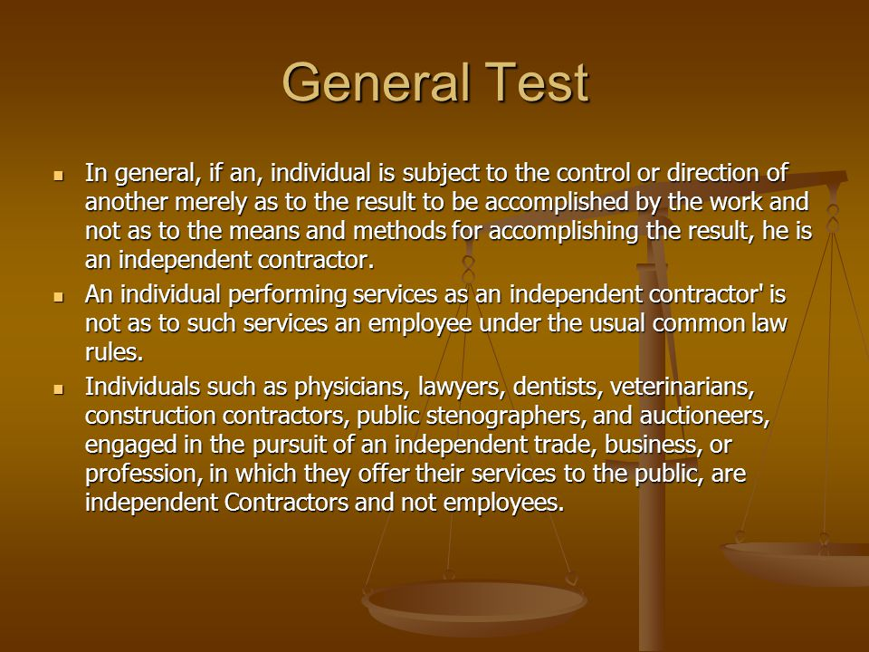 General Test