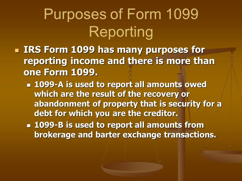 what is tax form 1099 g used for