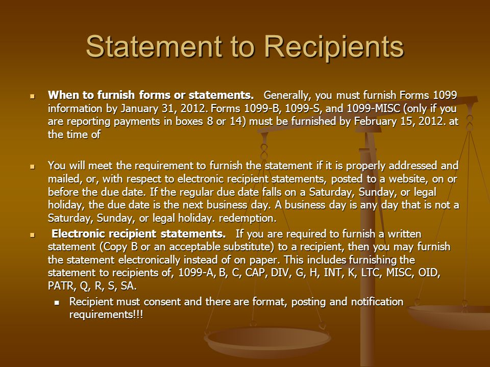 Form 1099 – Overview Robert J. Kiggins May 15, ppt download