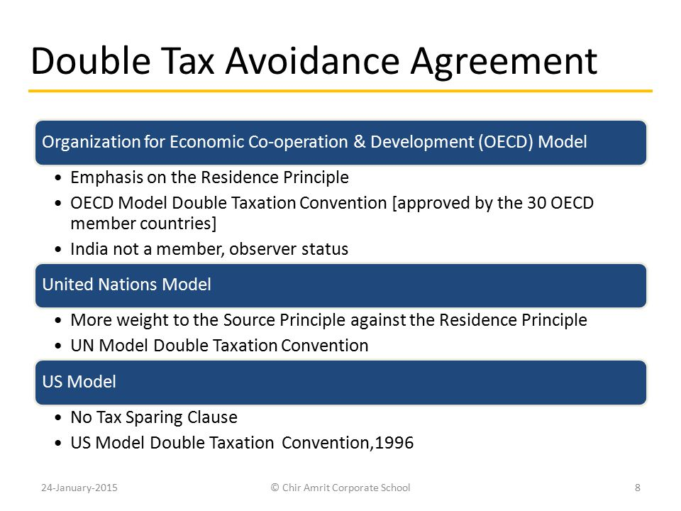 Double Tax Avoidance Agreement