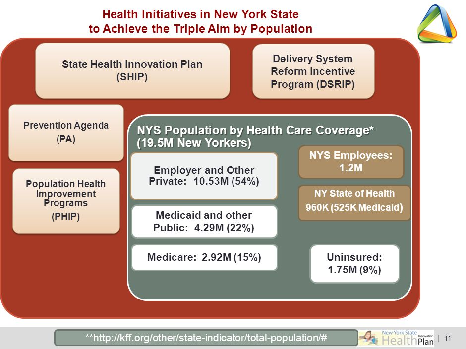 Health Initiatives in New York State