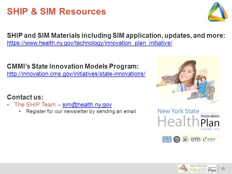 SHIP & SIM Resources SHIP and SIM Materials including SIM application, updates, and more: