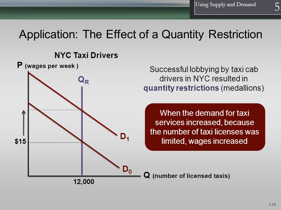 Application: The Effect of a Quantity Restriction