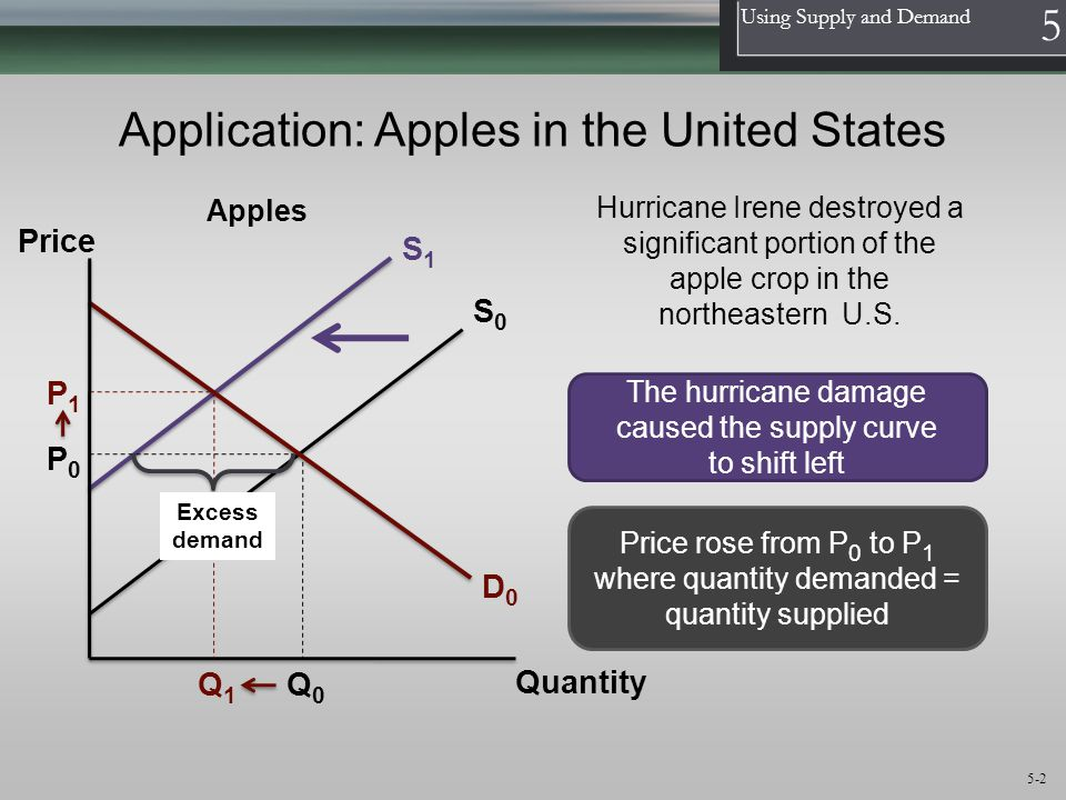 Application: Apples in the United States