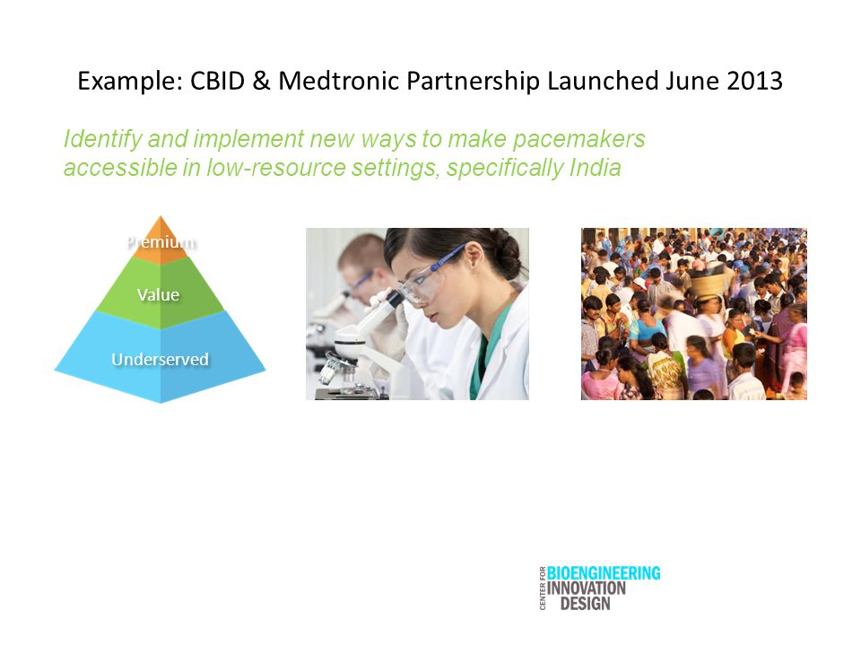 Example: CBID & Medtronic Partnership Launched June 2013