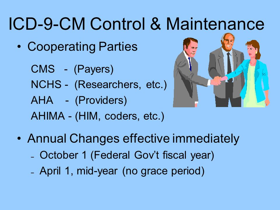 ICD-9-CM Control & Maintenance