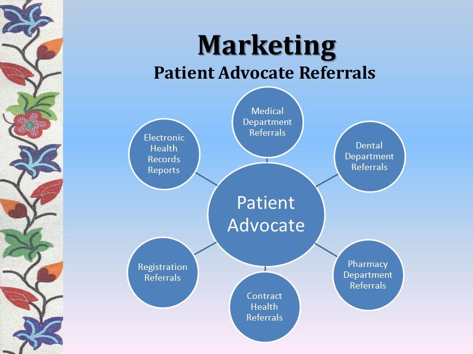 Patient Advocate Referrals