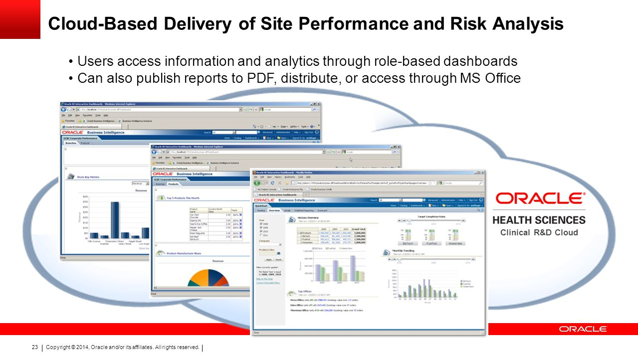 Cloud-Based Delivery of Site Performance and Risk Analysis