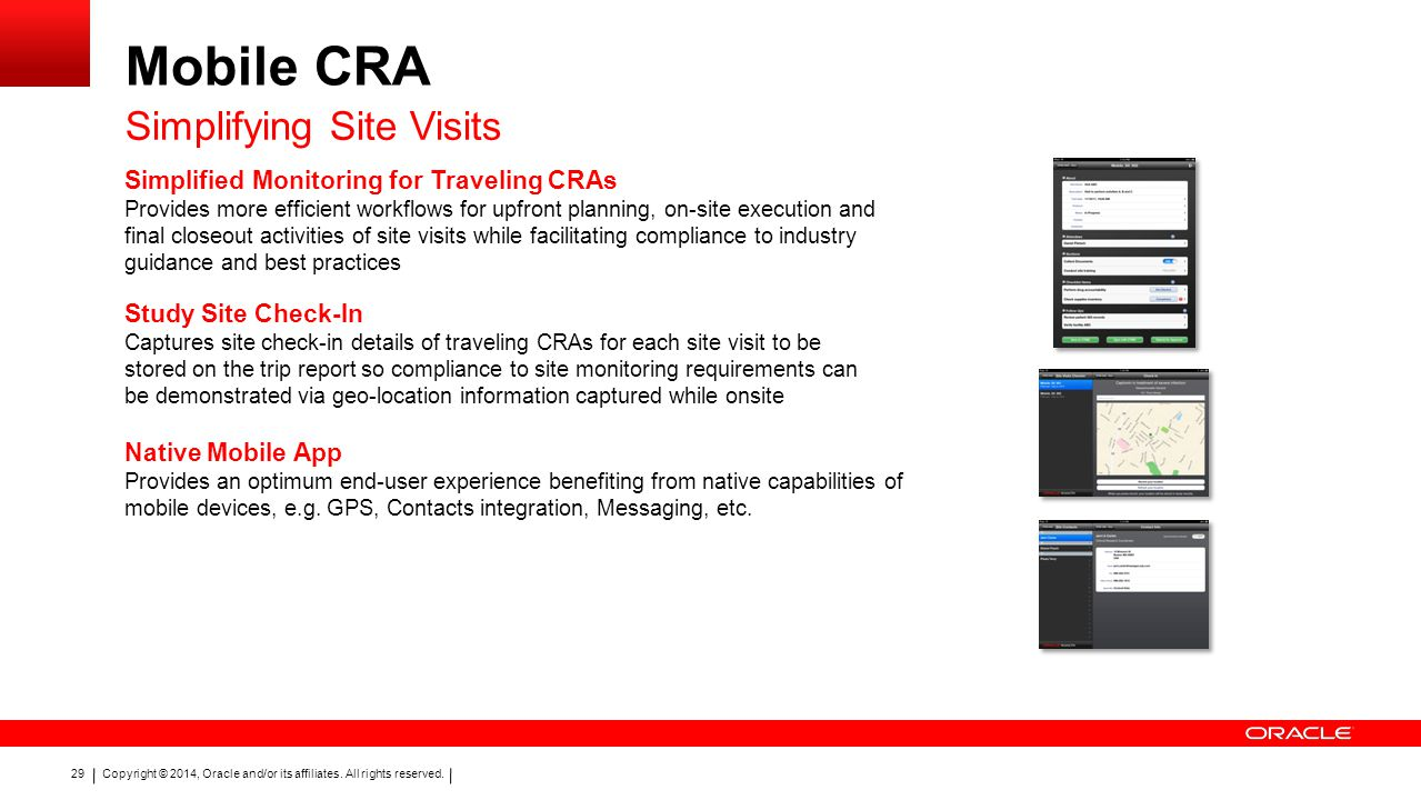 Mobile CRA Simplifying Site Visits