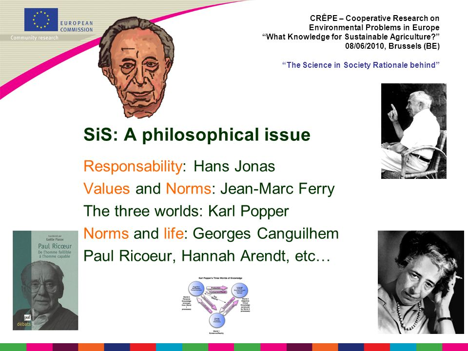 SiS: A philosophical issue