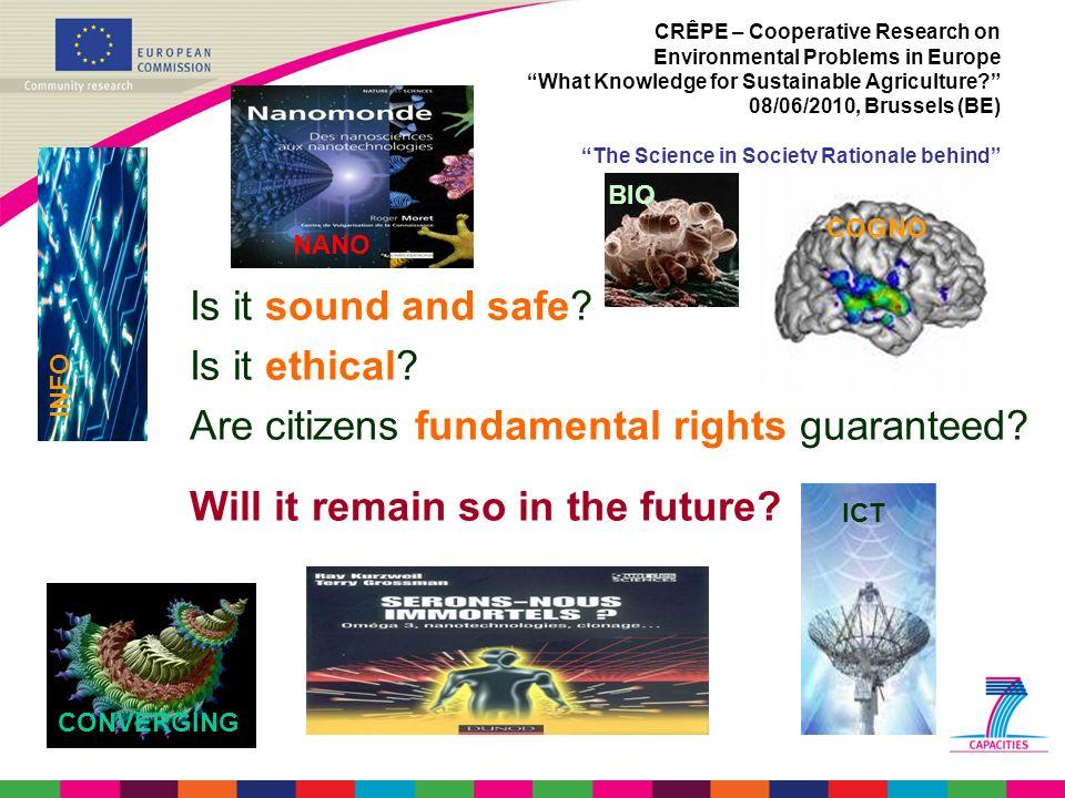 Are citizens fundamental rights guaranteed