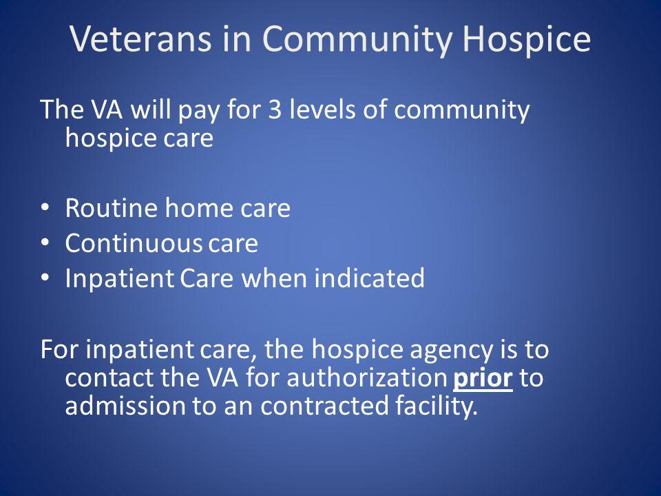 Veterans in Community Hospice