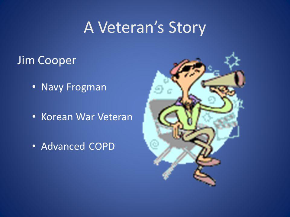 A Veteran's Story Jim Cooper Navy Frogman Korean War Veteran
