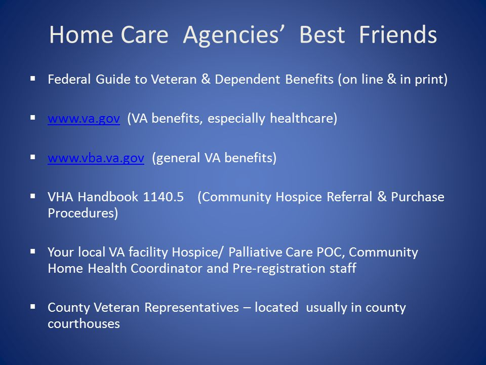 Home Care Agencies' Best Friends