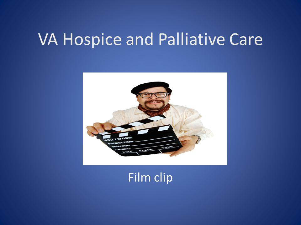 VA Hospice and Palliative Care