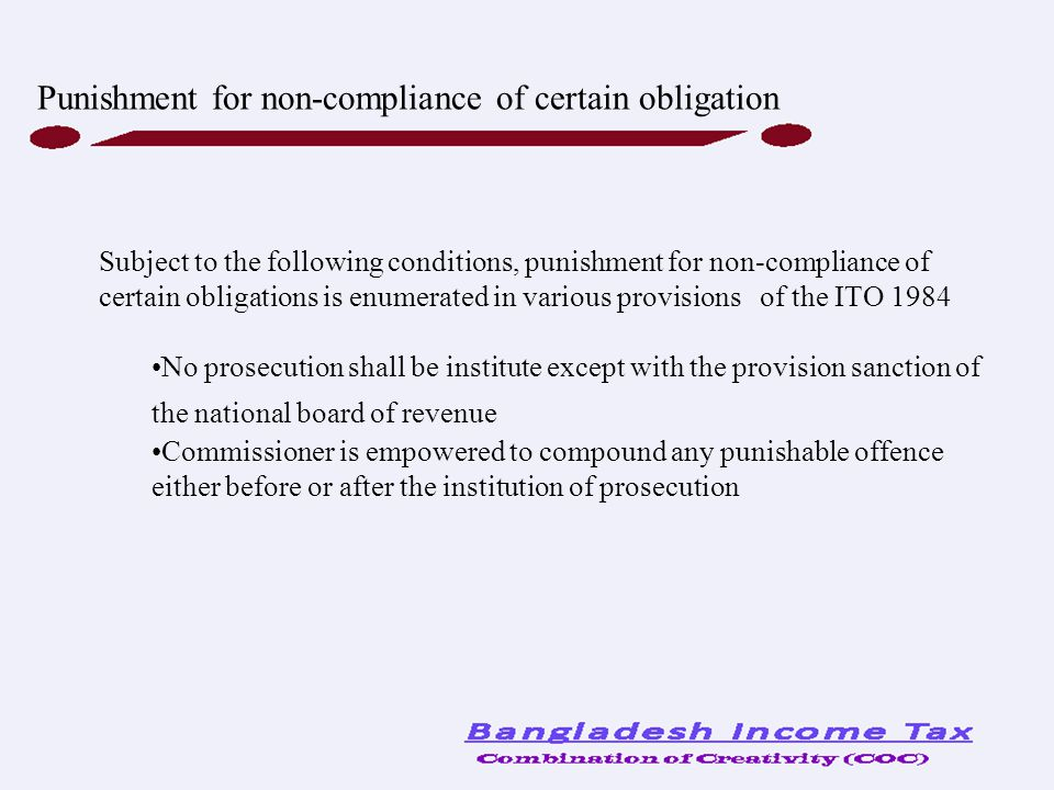 Punishment for non-compliance of certain obligation
