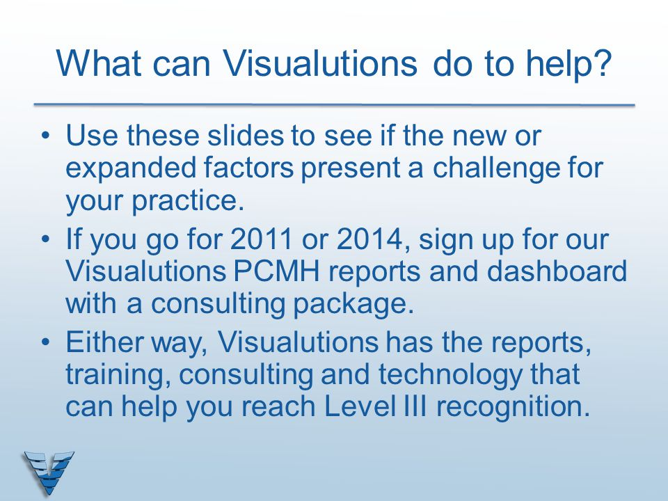What can Visualutions do to help