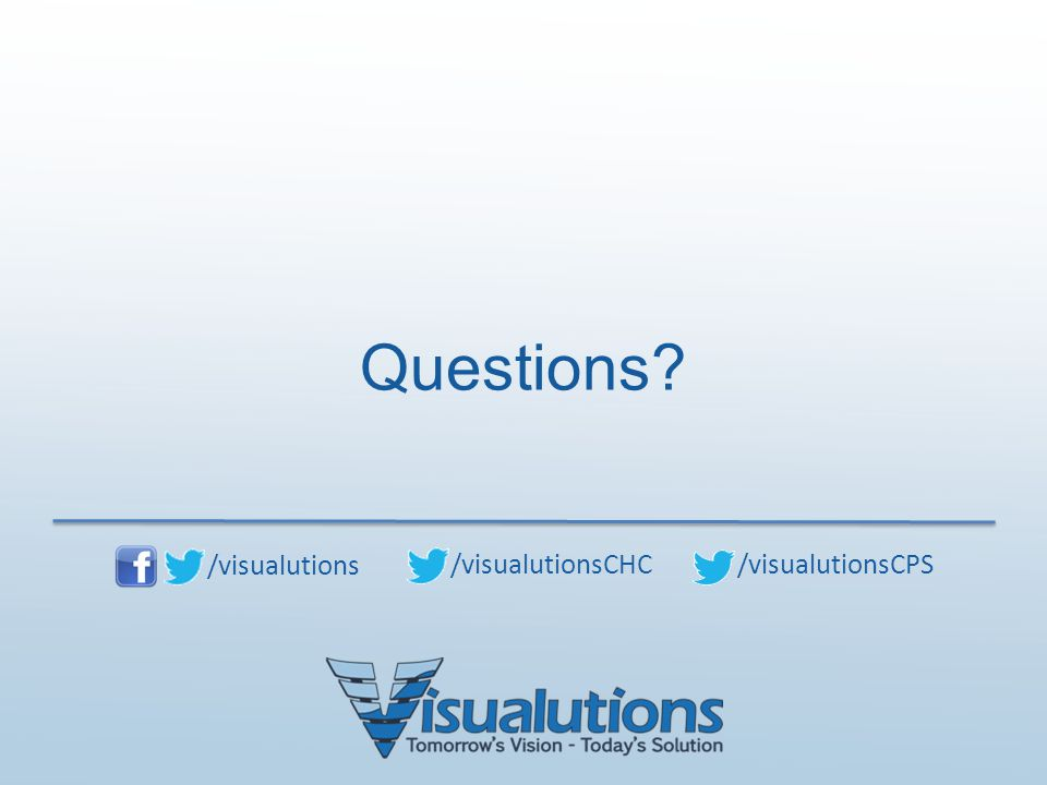 Questions /visualutions /visualutionsCHC /visualutionsCPS