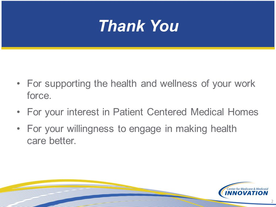 Thank You For supporting the health and wellness of your work force.
