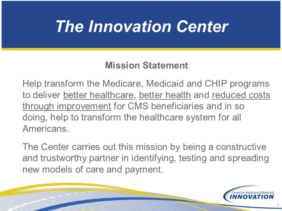 The Innovation Center Mission Statement
