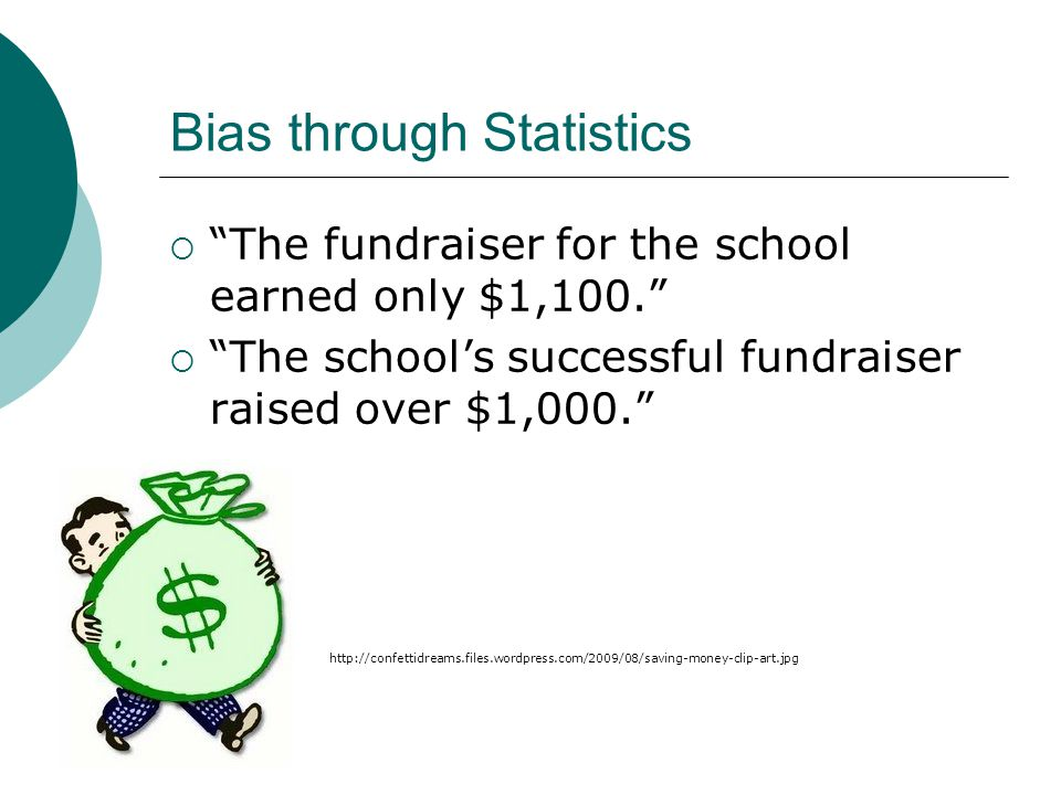 Bias through Statistics