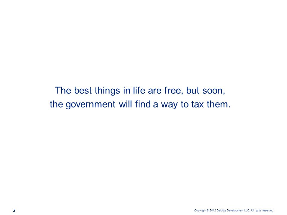 The best things in life are free, but soon,