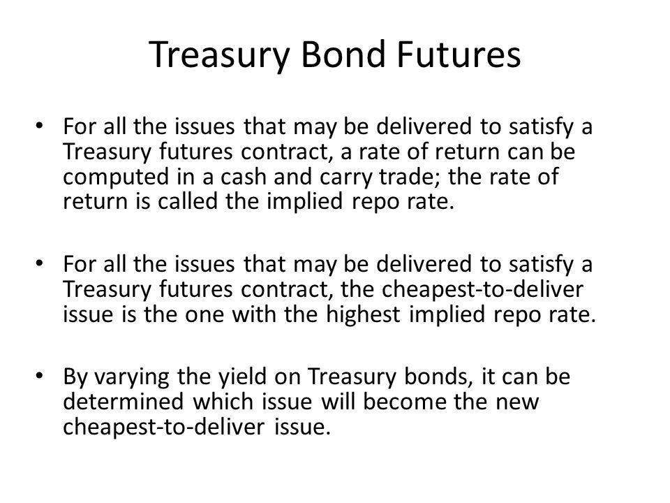 Treasury Bond Futures