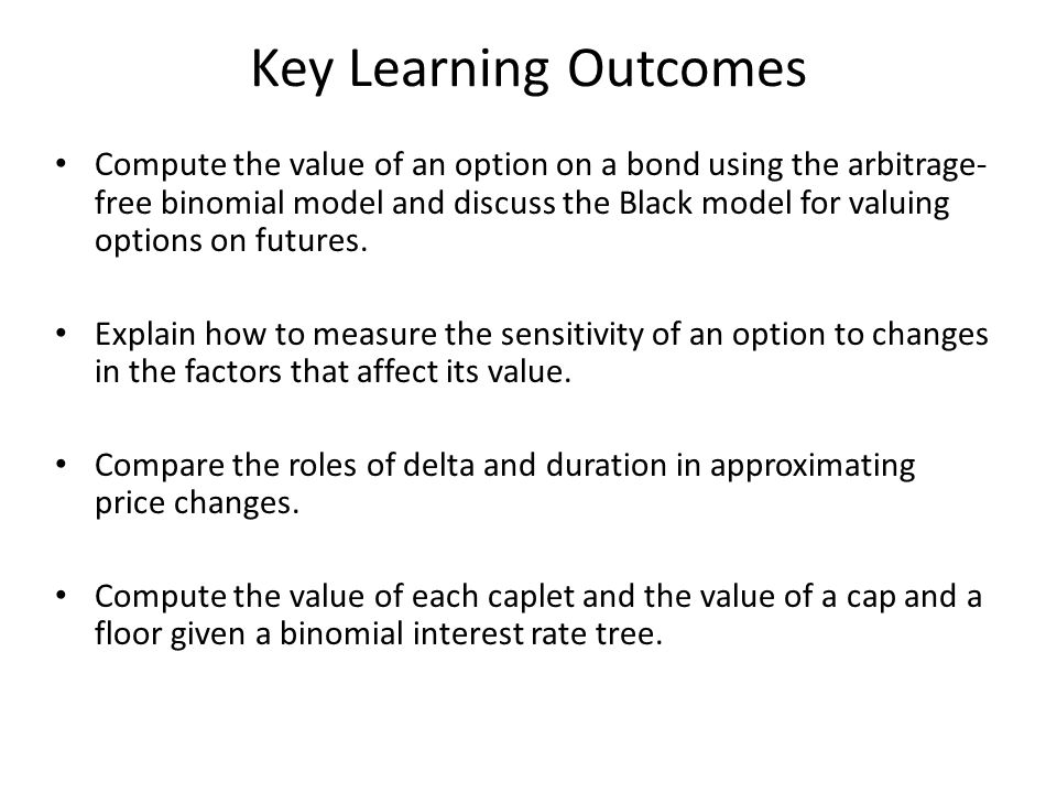 Key Learning Outcomes