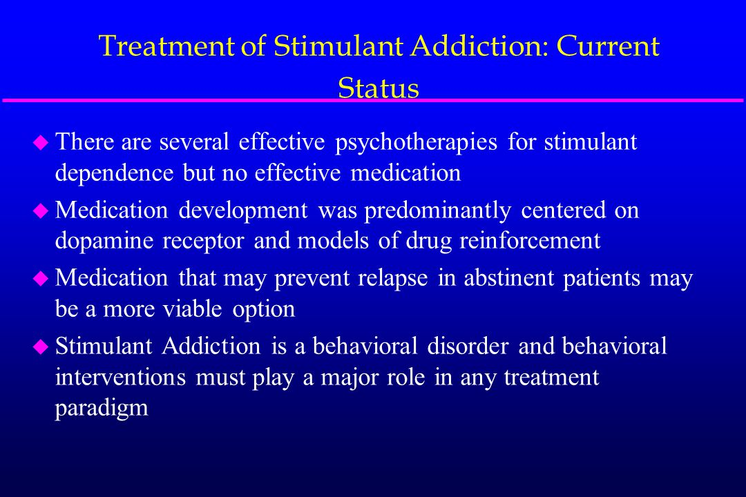 Determinants of Stimulant Use